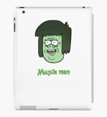 Regular show t_shirt cartoon, Muscle man iPad Case/Skin