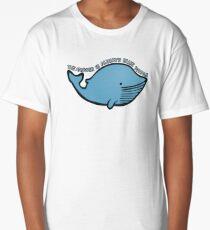Blue Whale | QI Long T-Shirt