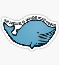 Blue Whale | QI Sticker