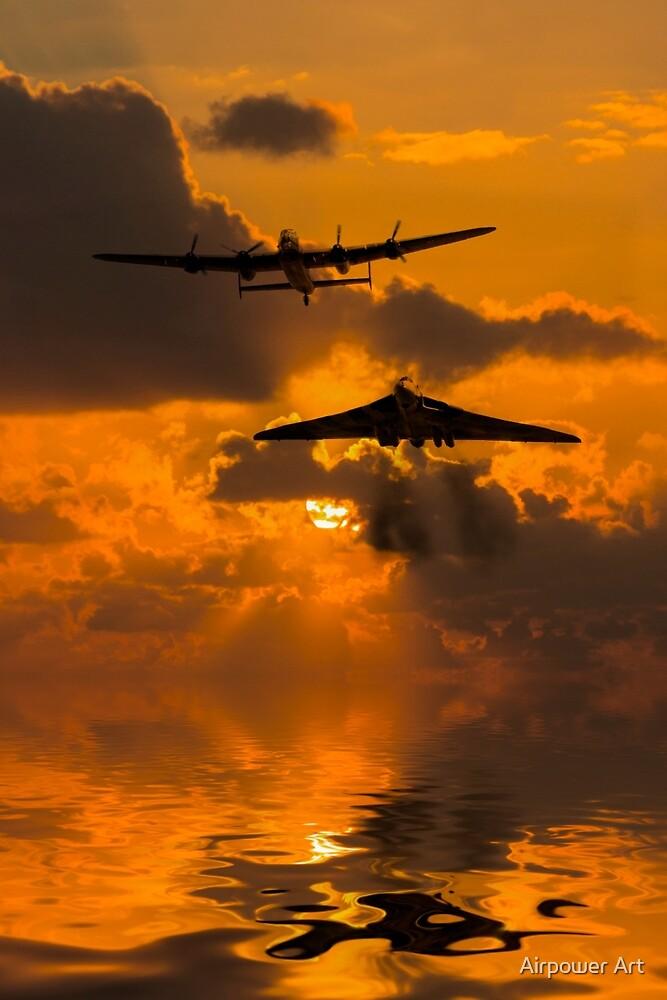 Avro Duo  by Airpower Art