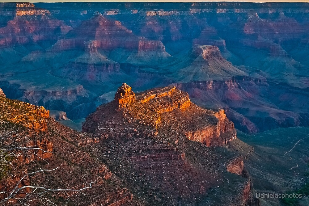 Sunrise at Grand Canyon by Danielasphotos