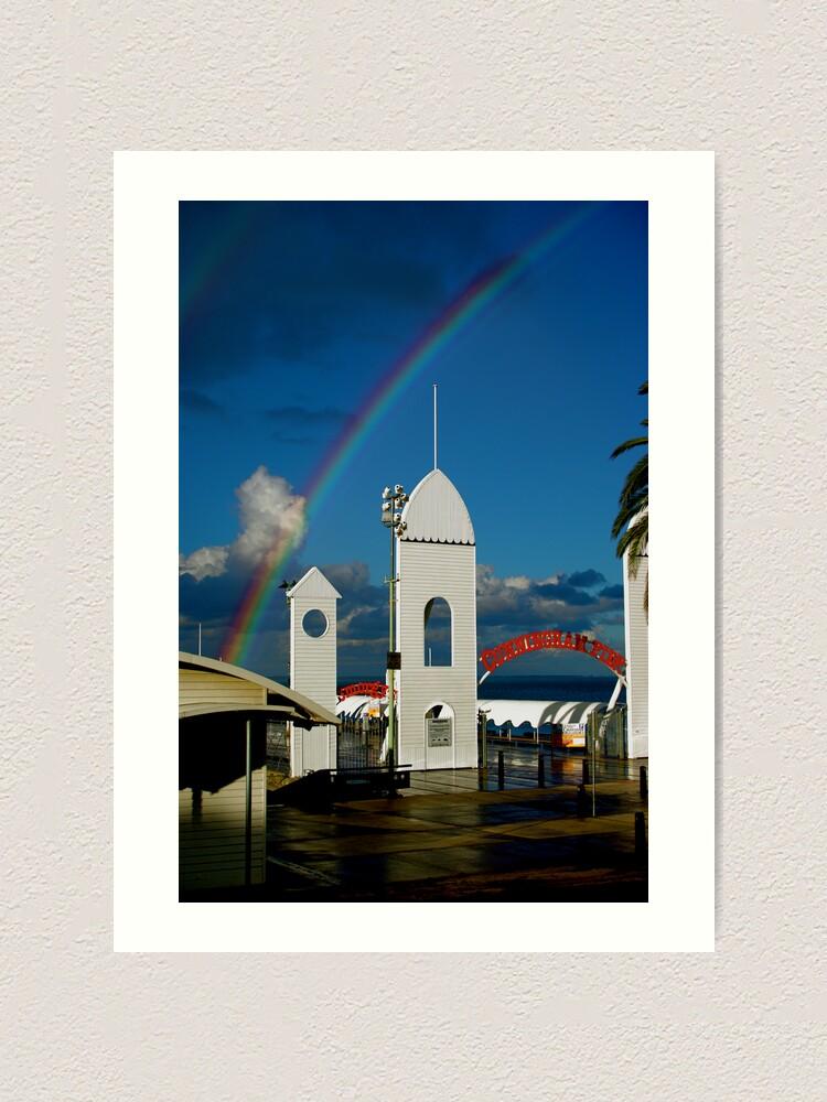 Alternate view of Rainbow Art Print