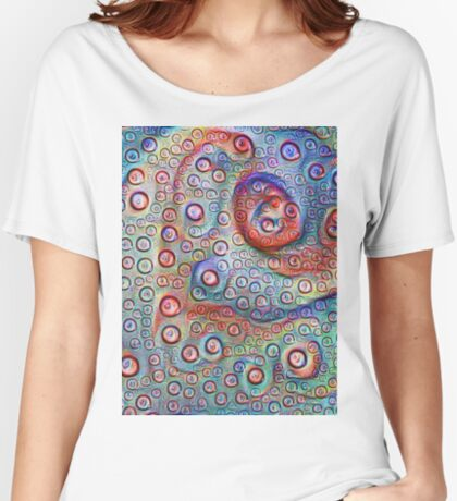 #DeepDream Water droplets on glass Relaxed Fit T-Shirt