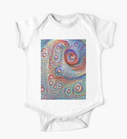 #DeepDream Water droplets on glass Kids Clothes
