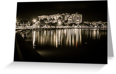 Cairns at Night by infinitephotos