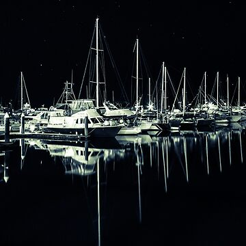 Cairns Harbour at Night by infinitephotos