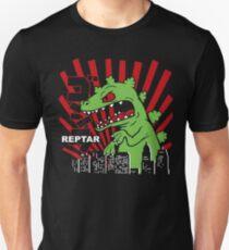 737564417 Green Reptar Rugrats Slim Fit T-Shirt