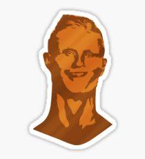 Ronaldo Bust Sticker