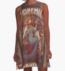 Art Nouveau BOHEMIA A-Line Dress