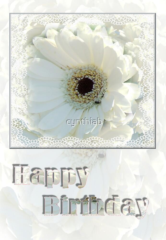 happybirthday by cynthiab