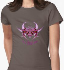 Fractal Insect Women's Fitted T-Shirt