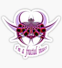 Fractal Insect Sticker