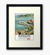 Plymouth Delightful Centre For Holidays Framed Print