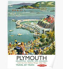 Plymouth Delightful Centre For Holidays Poster