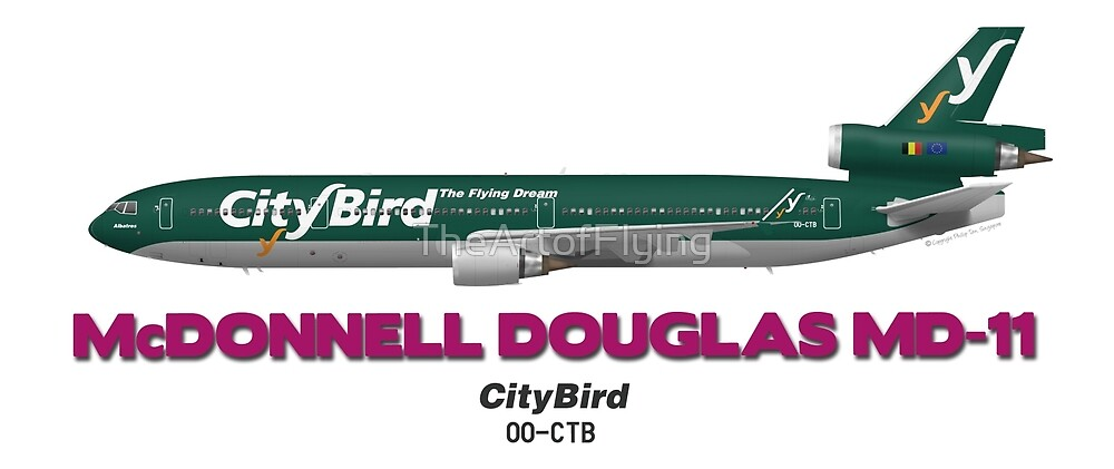 McDonnell Douglas MD-11 - CityBird by TheArtofFlying