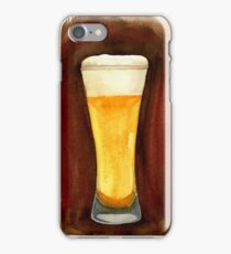 Beer in Glass iPhone Case/Skin