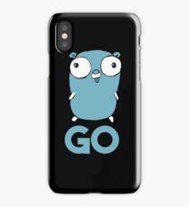 Golang Gopher GO ,Lang Programming Programmer IT CS iPhone Case