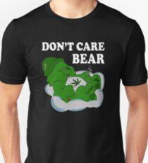 Don't Care Bear Funny Unisex T-Shirt