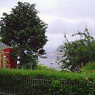 A peek at Portree Bay by Tom Gomez