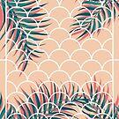 Tropical Window #redbubble  #decor #buyart by designdn