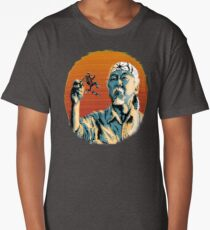 Mr. Miyagi & Marty McFly Long T-Shirt