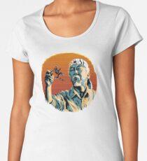 Mr. Miyagi & Marty McFly Women's Premium T-Shirt