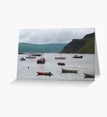 Sheltered bay Greeting Card