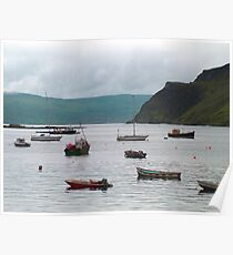 Sheltered bay Poster