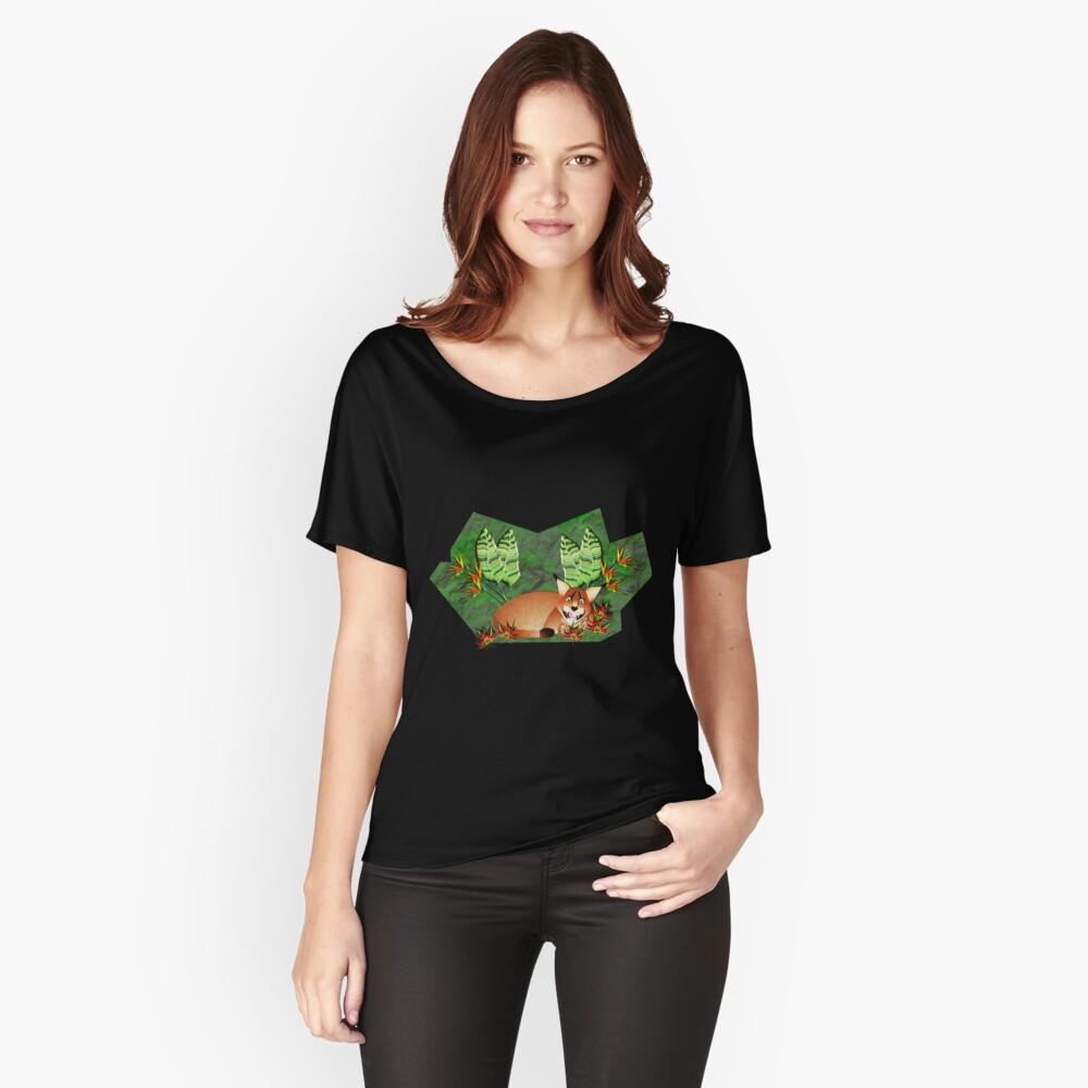 CARACAL 131 IN A GARDEN Relaxed Fit T-Shirt