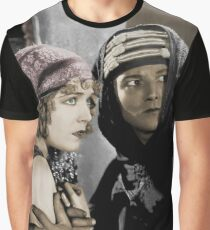 Rudolph Valentino in The Son of the Sheik Graphic T-Shirt