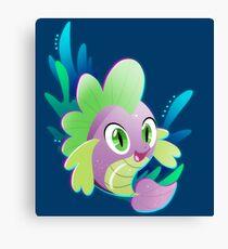 Pufferfish Spike Canvas Print
