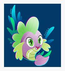 Pufferfish Spike Photographic Print