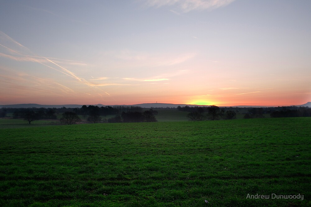 Sutton Hill Sunrise by Andrew Dunwoody
