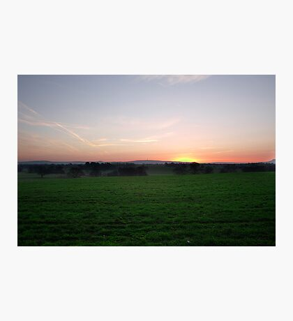 Sutton Hill Sunrise Photographic Print