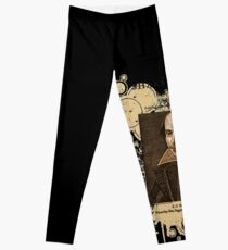 Shakespeare First Folio Front Piece Leggings