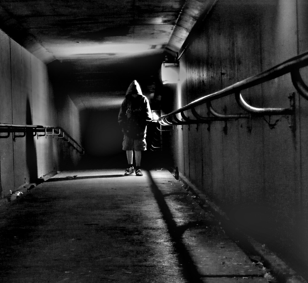 The Boy in the Tunnel by Bruce  Watson