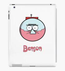 Regular show t_shirt cartoon, Benson iPad Case/Skin