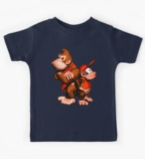 Donkey And Diddy Kids Tee
