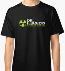 Back to the Future - Dr E Brown Enterprises Classic T-Shirt