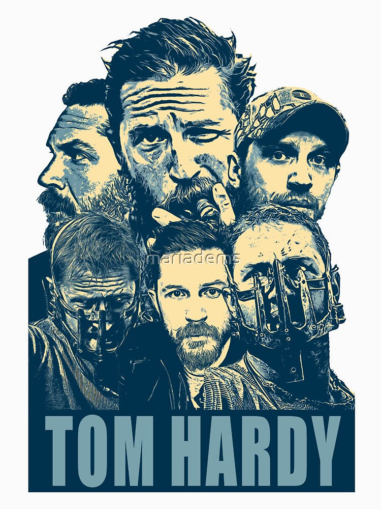 Tom Hardy by mariadems