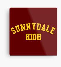 Sunnydale High School Metal Print