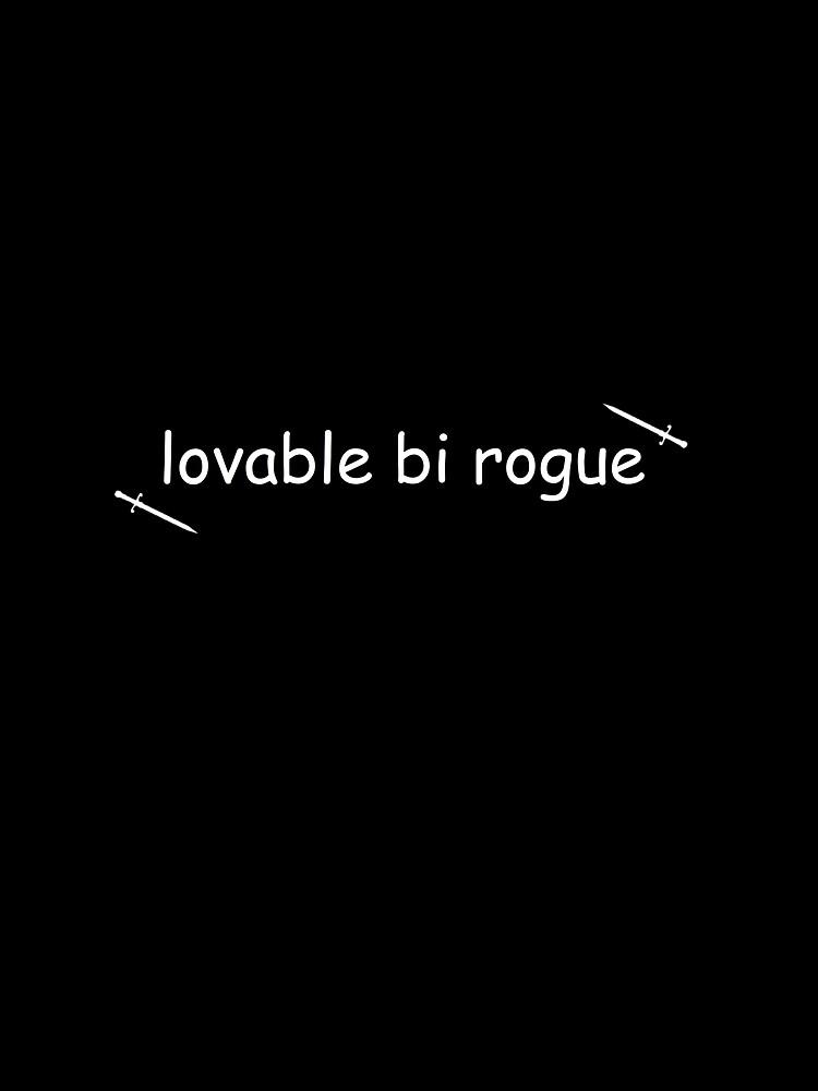 lovable bi rogue  by ursafish