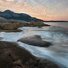 Dawn over the Strezlecki Range, Flinders Island by James Stone