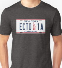 Ghostbusters - Ecto1A Licence Plate T-Shirt