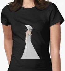 Bloody Mary Ghost Dress Women's Fitted T-Shirt
