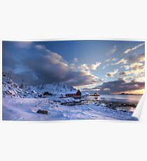 Morning In Lofoten Poster
