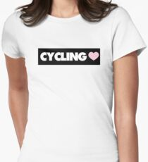 Cycling Women's Fitted T-Shirt