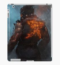 Akuma Street Fighter Poster Kanji iPad Case/Skin