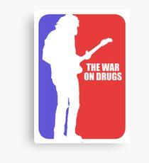 war on drugs Canvas Print