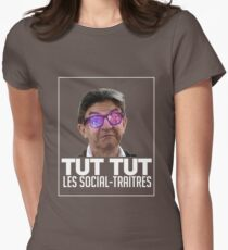 Social-Traitres (Colored) Womens Fitted T-Shirt